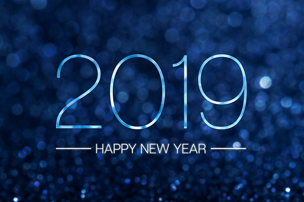 2019 New Year - Happy New Year