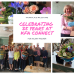 25 year Work Anniversary for Hilary 150x150 - Hilary Celebrates 25 years at KFA!