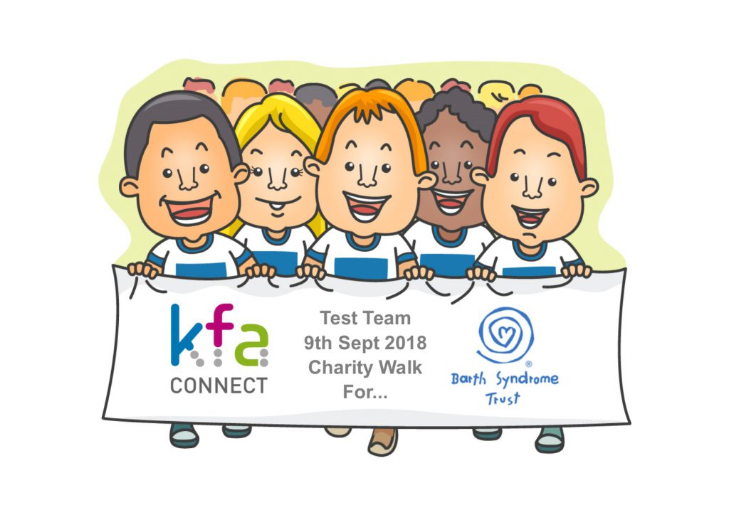 Barth Syndrome Trust Charity Walk 1024x724 - KFA Test Team Charity Walk for Barth Syndrome Trust