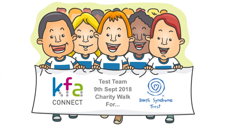 Barth Syndrome Trust Charity Walk 1170x658 - KFA Test Team raise money for Barth Syndrome Trust
