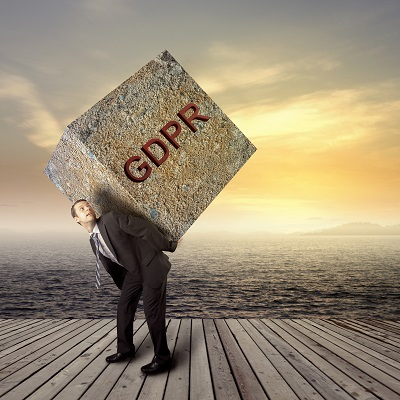 GDPR weighing you down resized - General Data Protection Regulation (GDPR) - Awareness