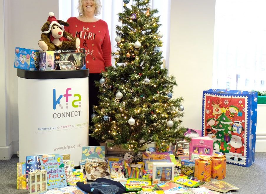 KFA Connect Mission Christmas appeal 2016 for Wave 105 903x658 - Wave 105 'Mission Christmas' Cash for Kids Appeal 2016