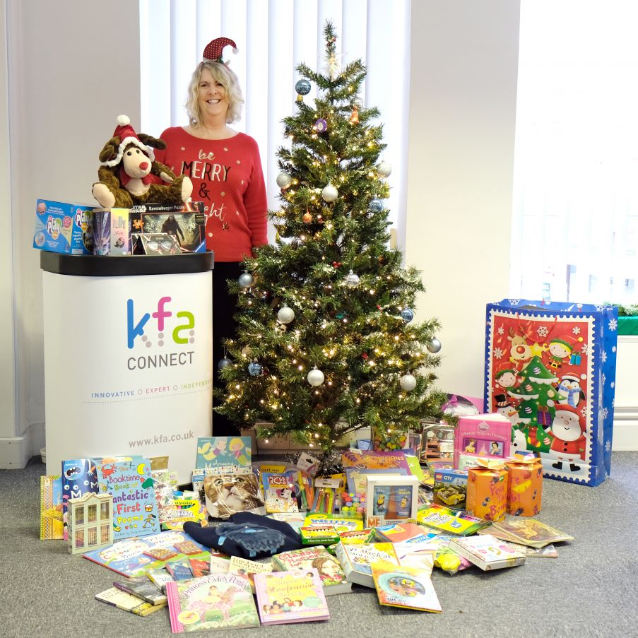 KFA Connect Mission Christmas appeal 2016 for Wave 105 - Blog
