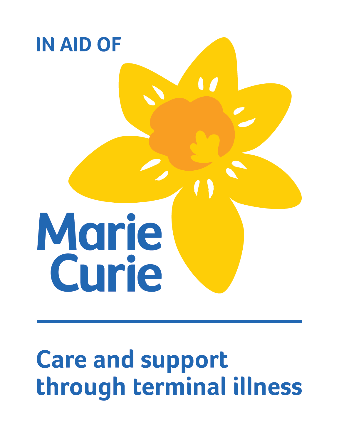 Marie Curie In aid of logo - Hampshire's Marie Curie Nurse Manager, Fiona Brown Visits the KFA team.