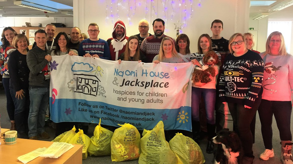 Naomi House Dec 2018 2 1170x658 - Christmas Jumper Day 2018 and Naomi House & Jacksplace Collection
