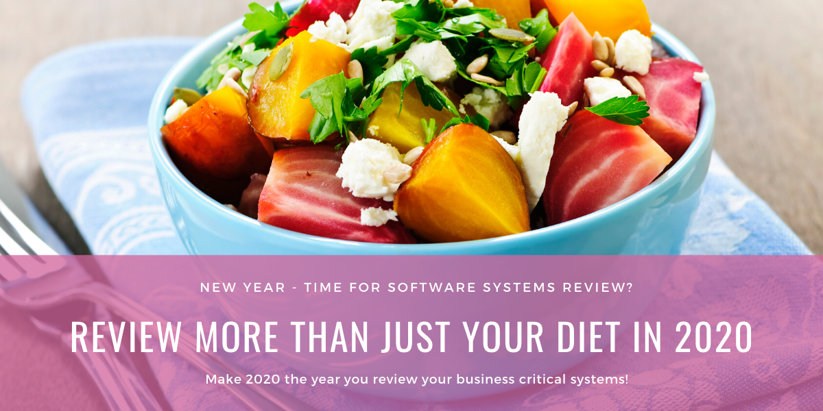 New Year Software Systems Review  2020 - New Year, Time for a Software Systems Review?