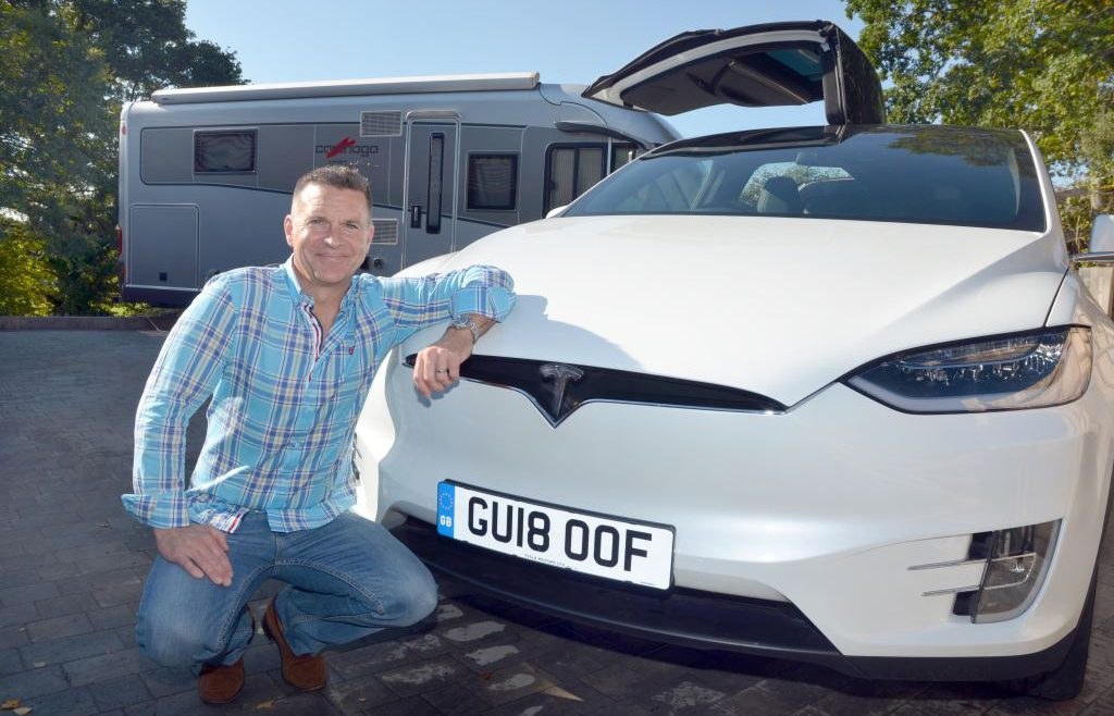 Richard and the Tesla