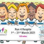 Run 4 Respite 2021 150x150 - KFA 'Run 4 Respite' for Naomi House & Jacksplace - March 2021