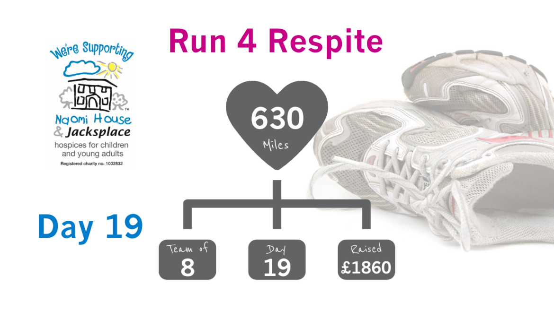 Run 4 Respite Update Day 19 1170x658 - Photography skills have emerged in 'Run 4 Respite' - Day 19