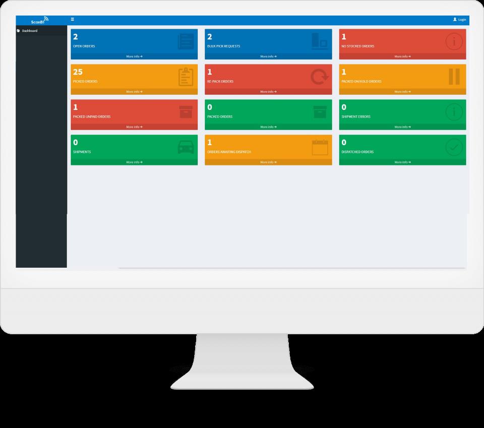 ScanB1 Dashboard - ScanB1 Barcode Scanning