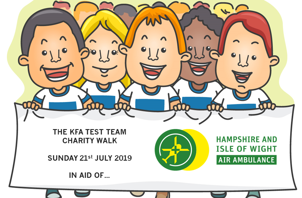 Test Team 2019 Charity Walk for Hamp IOW Air Ambulance 1003x658 - Test Team Walk for Hampshire & IOW Air Ambulance