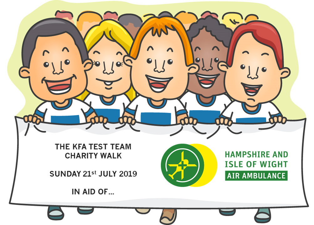 Test Team 2019 Charity Walk for Hamp IOW Air Ambulance - Test Team Walk for Hampshire & IOW Air Ambulance