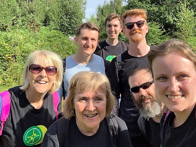 Test Team Charity Walk 2019