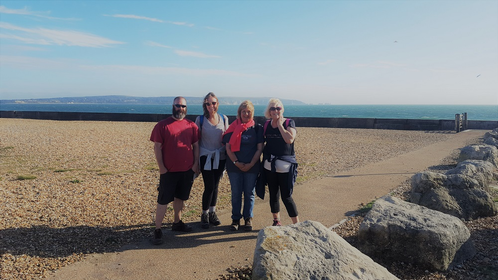 Test Team walk Barth Syndrome Trust Sept 2018 - KFA Test Team Charity Walk for Barth Syndrome Trust