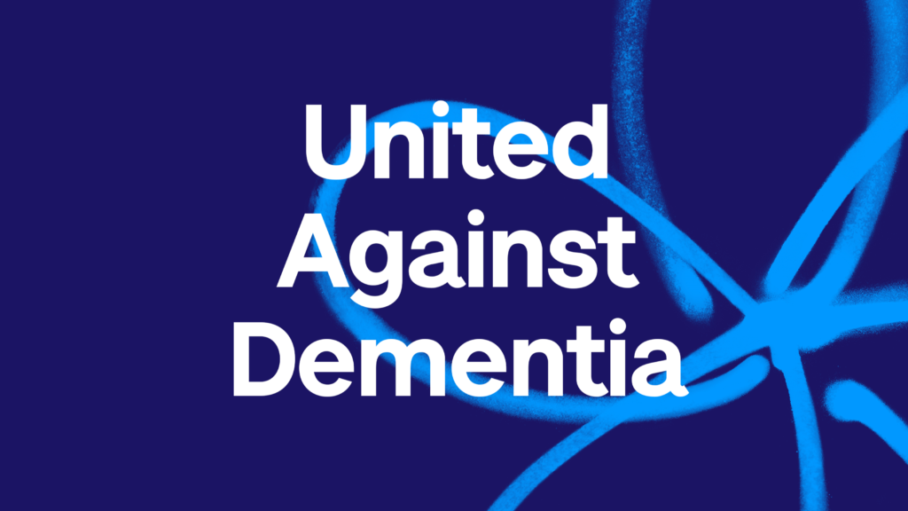United Against Dementia Logo 1024x576 - Development Manager Dave, Cycles London-Brighton for Alzheimer's Society