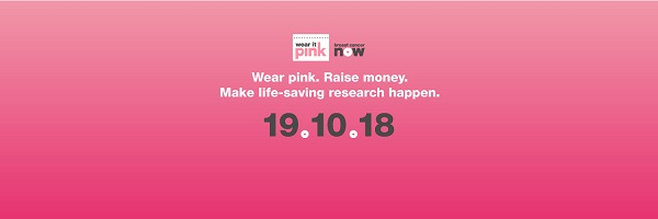 Wear it Pink Web Banner - Wear it Pink 2018