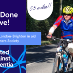 Well Done Dave 1 150x150 - He did it! Dave Cycled London-Brighton for Alzheimer's Society