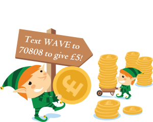 wavecash 300x240 - Supporting the Wave 105 'Mission Christmas' Cash for Kids Appeal